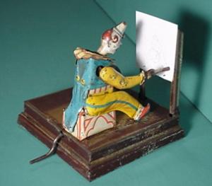 clown artist toy
